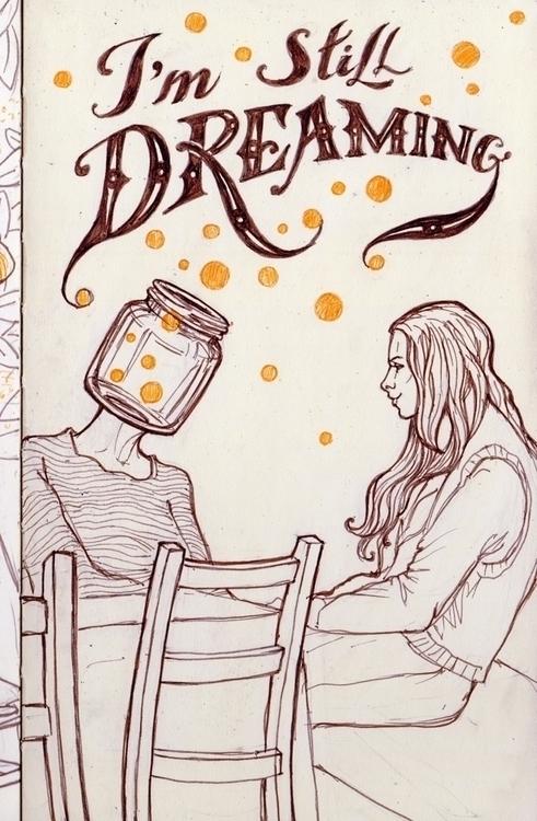 sleep - illustration, characterdesign - zizilka   ello