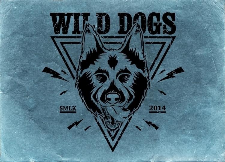 Wild Dogs crew Design - illustration - w8id | ello