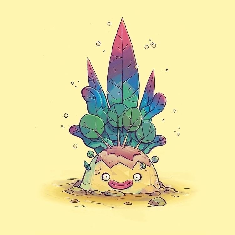 Plant Dude - characterdesign, plants - tommonster | ello