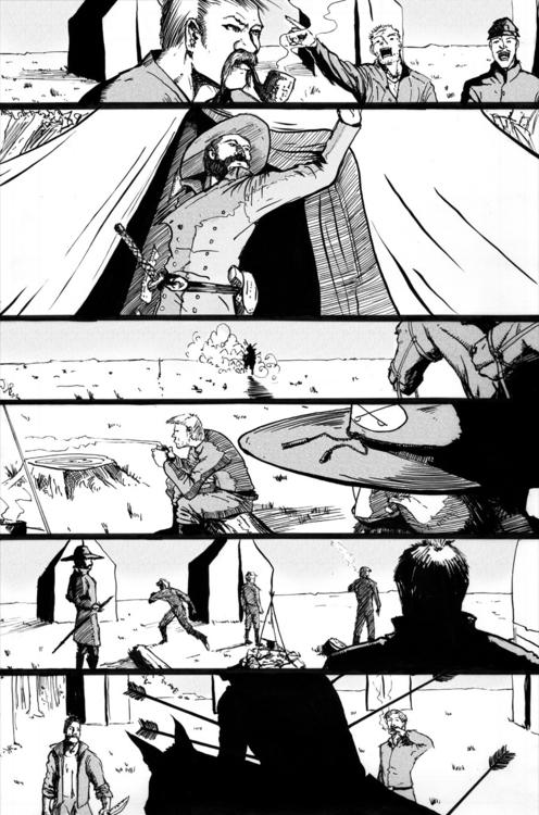 SotP page 5 - sequentialart, comics - lostronin | ello