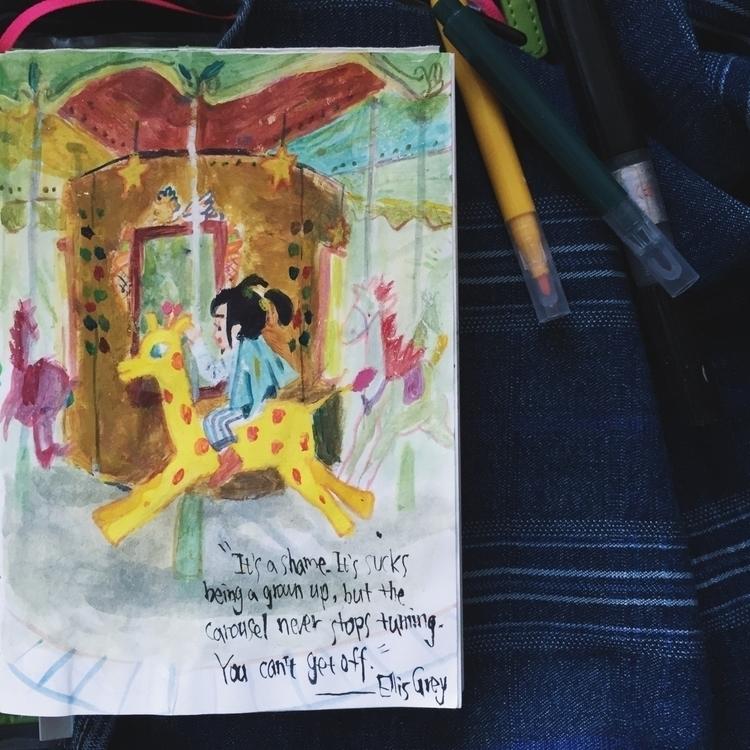 painting, drawing, sketchbook - elwood-6557 | ello