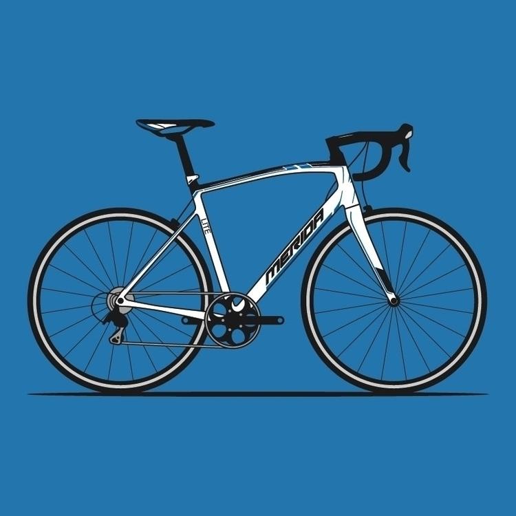 road bike  - merida, cycle, bicycle - rexdesigns | ello