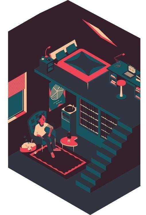 joy quiet - illustration, animation - sarahherlant | ello