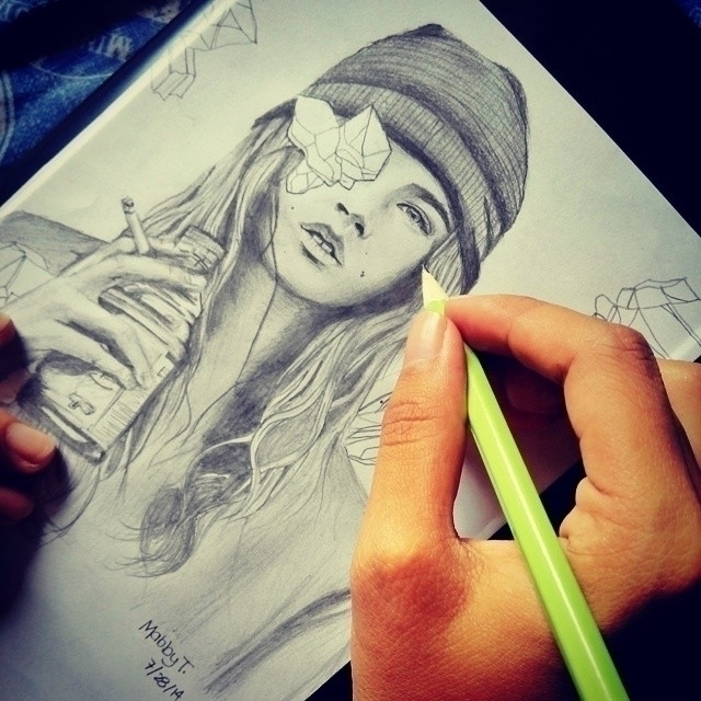 drawing - mabbytrivino | ello