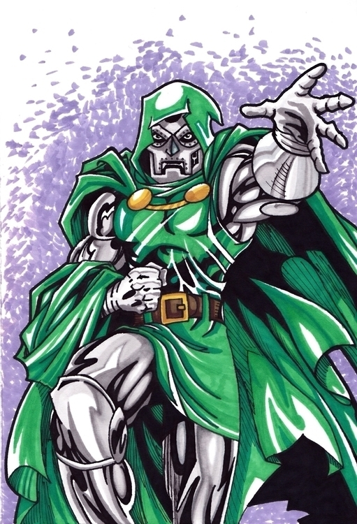 Dr. Doom - Dr.Doom, Fantasticfour - justinoden | ello