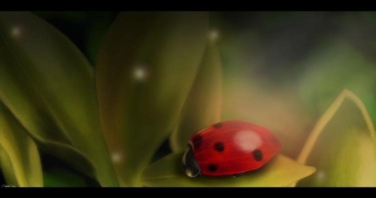illustration, digitalart, digitalpainting - kuukistudio   ello