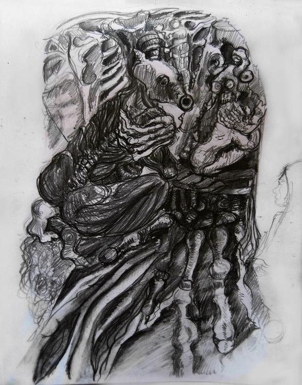 weird world horror 2 - illustration - wickedbastet1982 | ello