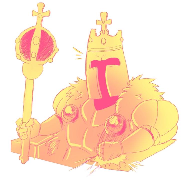 King Knight - art, fanart, videogames - darkdarren | ello