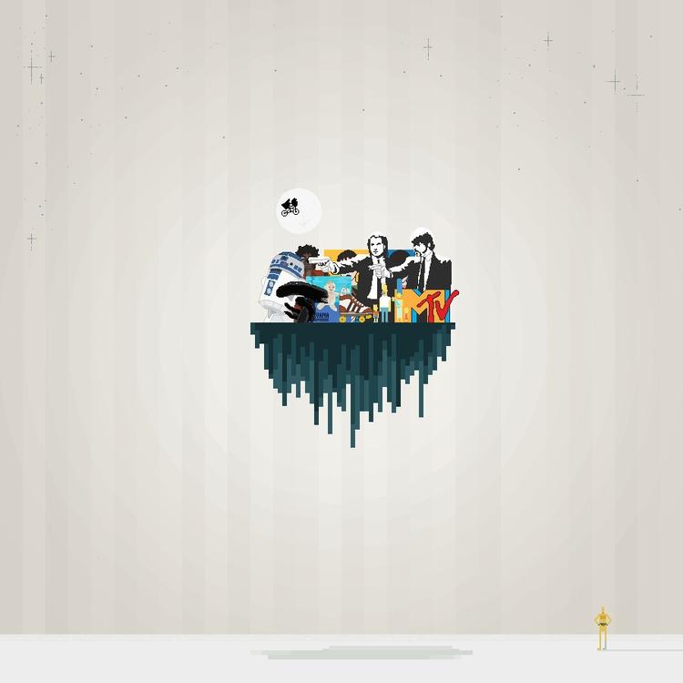 retro, illustration, pixelart - mioim | ello