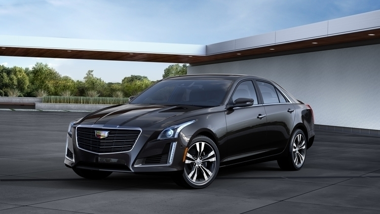 CG Rendered 2016 Cadillac CTS.  - dmillercg | ello