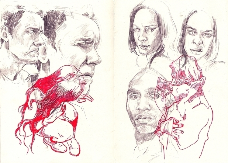 sketches, studies, sketchbook - thomke-9244 | ello