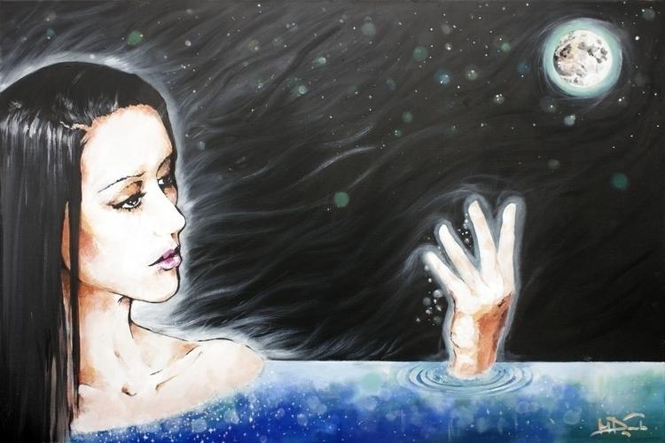 Pearl River - painting - elasticcanvas | ello