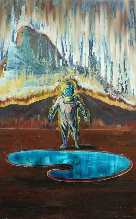 palette, oil,varnish canvas, 15 - lyube | ello