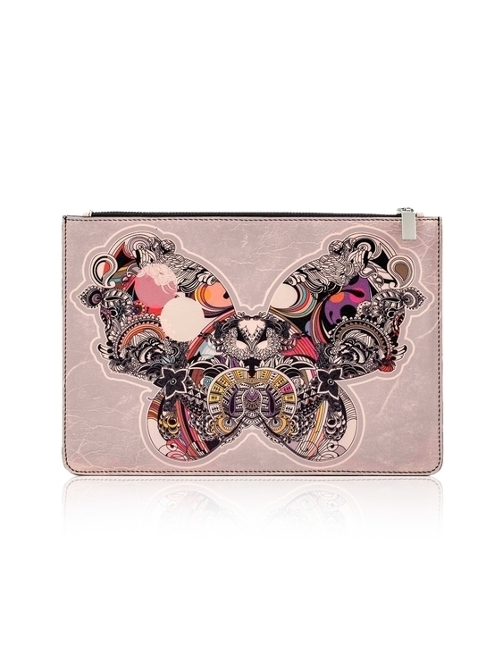 BUTTERFLY EFFECT Leather Pouch - ancastefanescu | ello