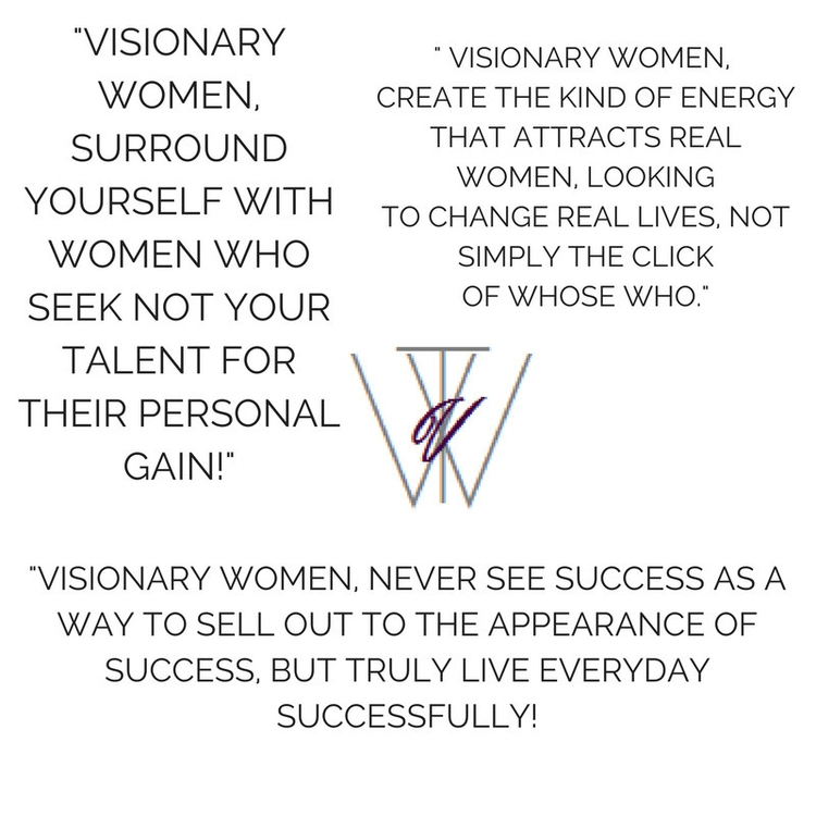 Real Sisterhood - Empowerment,, Motivation, - thevisionarywoman | ello