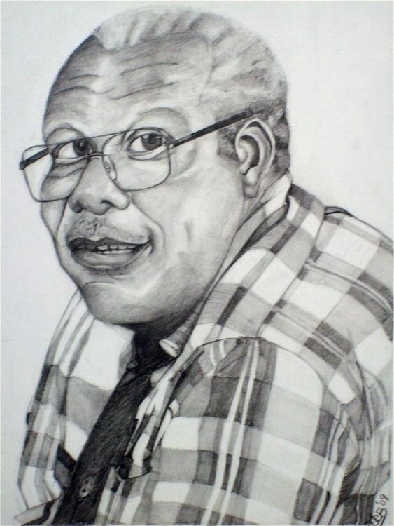 portrait students grandfather p - tracieclaflinbryant | ello