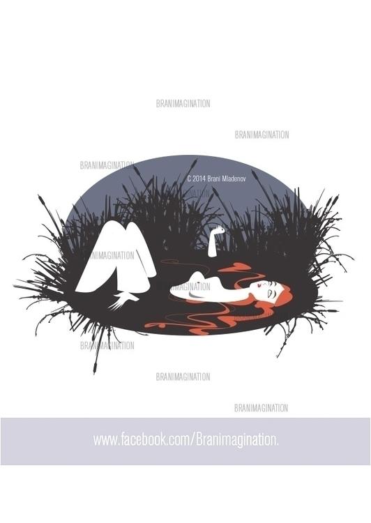Ophelia - illustration, characterdesign - branimagination | ello