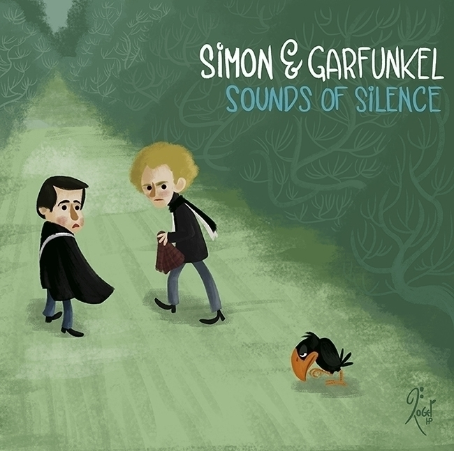 SIMON GARFUNKEL Sound Silence/  - rogerhoyosp | ello