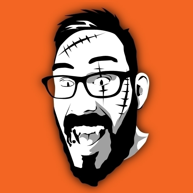 Halloween edit - portrait, vector - damskivitch | ello