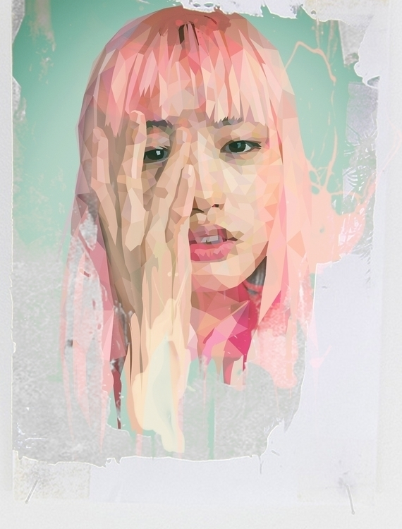 Pink Girl - pinkhair, asian, girl - roxycolor | ello