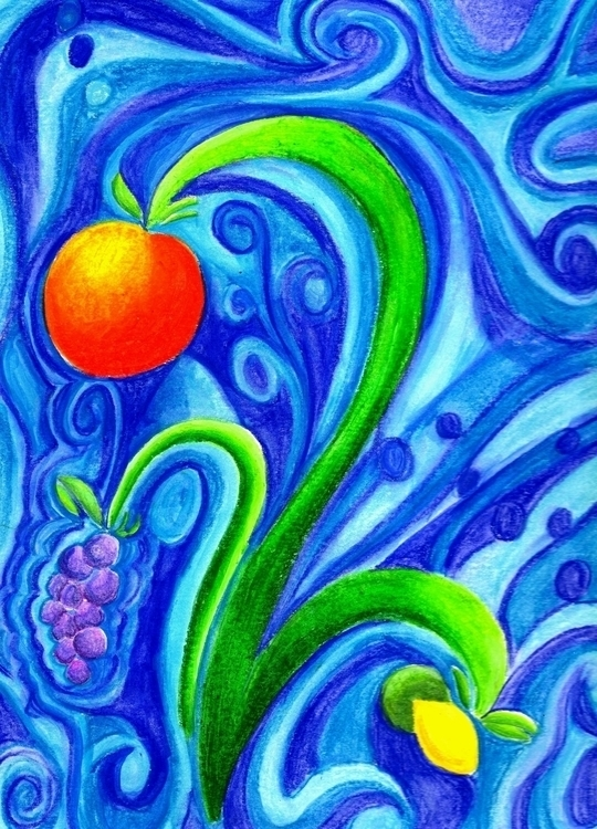 fruit - illustration - tracieclaflinbryant | ello