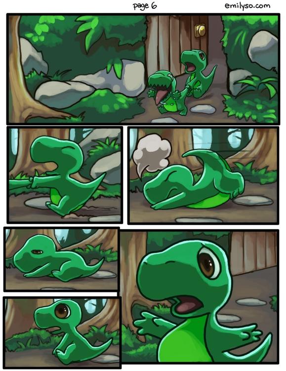 Dinnersaurus comics - dinosaur, comic - emilyso321 | ello