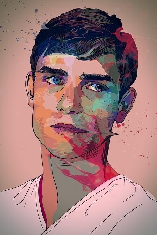 Colored Boy - boy, man, youngadult - roxycolor | ello