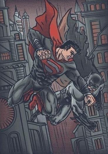 comics, superhero, superman, batman - arisuber | ello