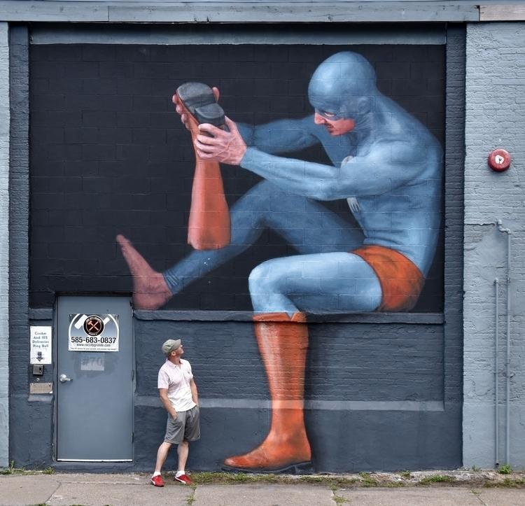 """Pebbles"" – street art project  - andreasenglund-4144 | ello"