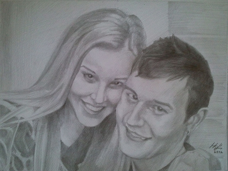 portrait, pencil - drawing - spiritfc | ello