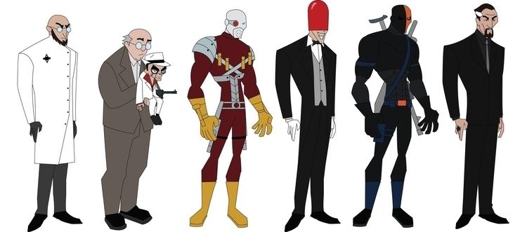 Bat-Baddies - characterdesign, ventrilloquist - jdude93 | ello