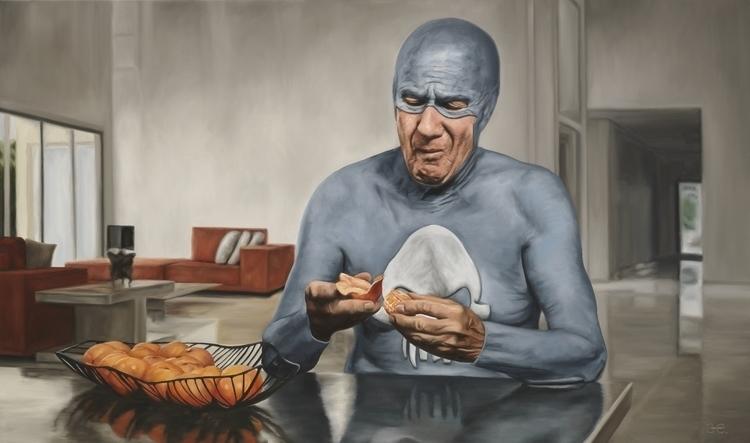"""Bad clementine"" Oil canvas – p - andreasenglund-4144 | ello"
