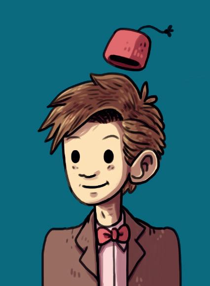 11th Doctor - doctorwho, fanart - indiana_jonas | ello