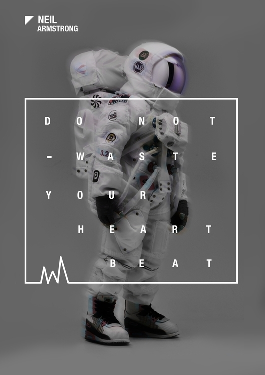 Waste Heartbeat - Poster - #Digitalart - tushar-9434 | ello