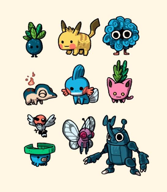 collection Pocket monsters - oddish - indiana_jonas | ello