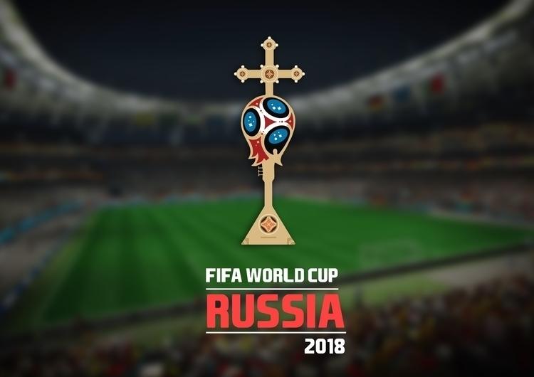 FIFA 2018 RUSSIA LOGO - Poster - tushar-9434 | ello