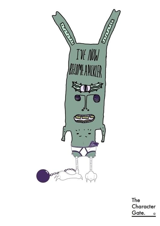 4, pickle, jail, illustration - mp-1845 | ello