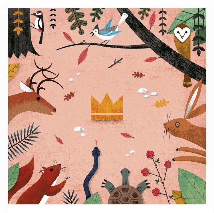 del bosco 2015 - illustration, animals - ekoes | ello
