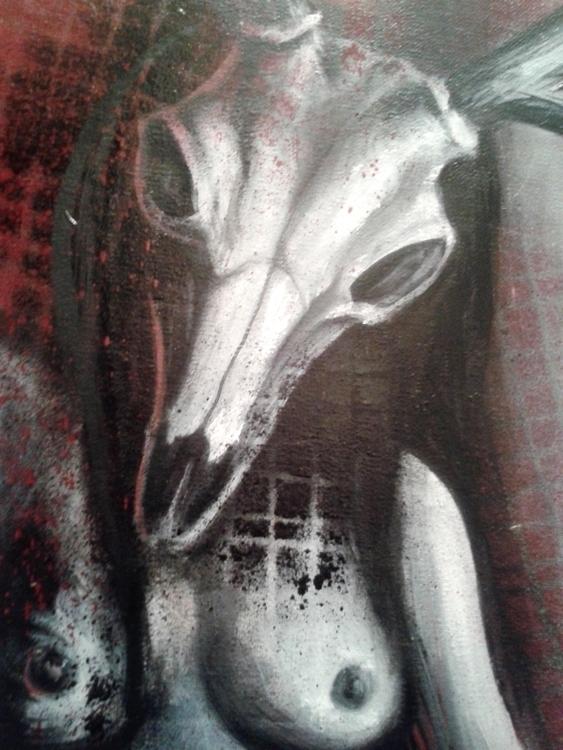 painting, portrait, fantasy, fantasyart - jelenalazic | ello