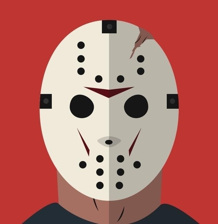 Jason illustration Halloween ye - jazsekuh | ello