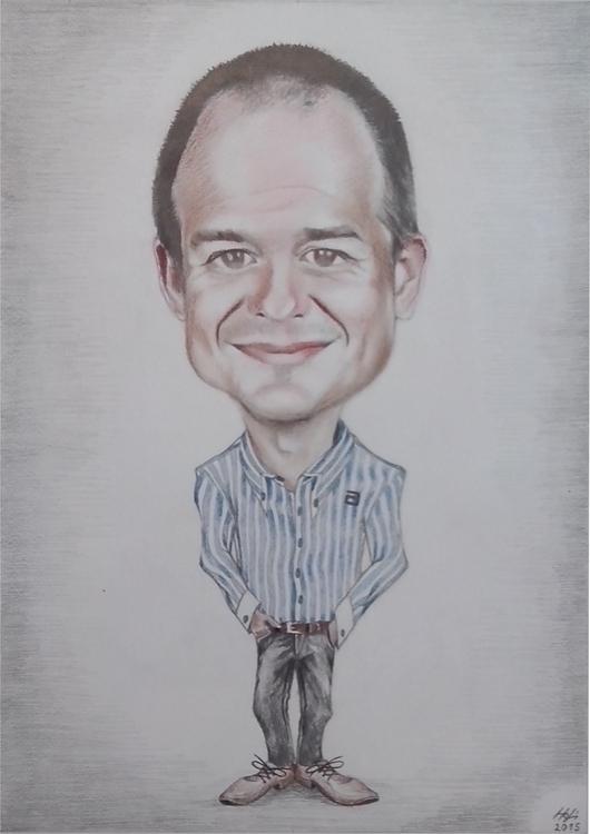 caricature, aquarell - drawing, boss - spiritfc | ello