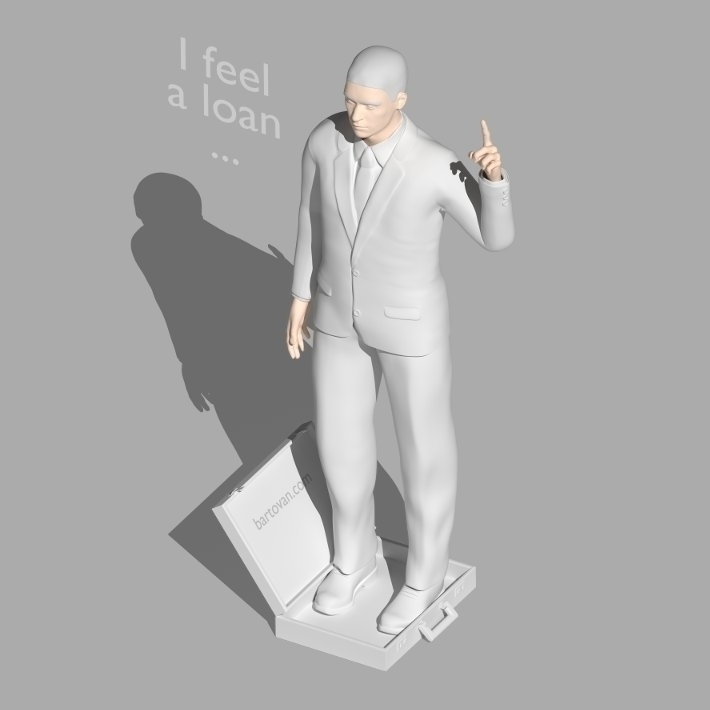 feel loan - 3d, conceptualart, business - bartovan-1056 | ello
