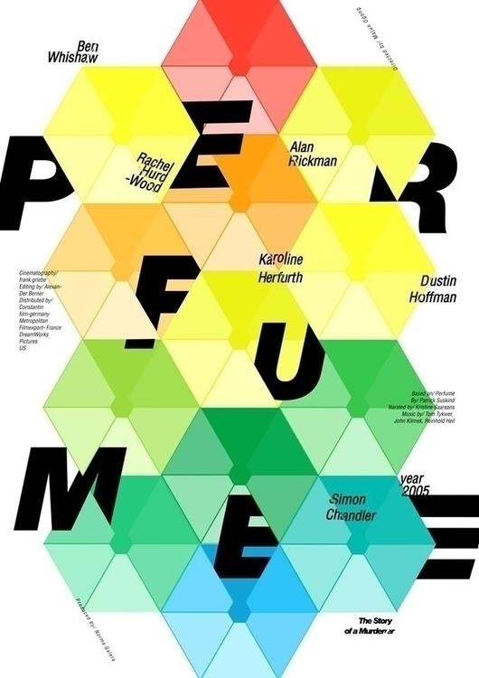 Perfume movie poster - illustration - jovana-1168   ello