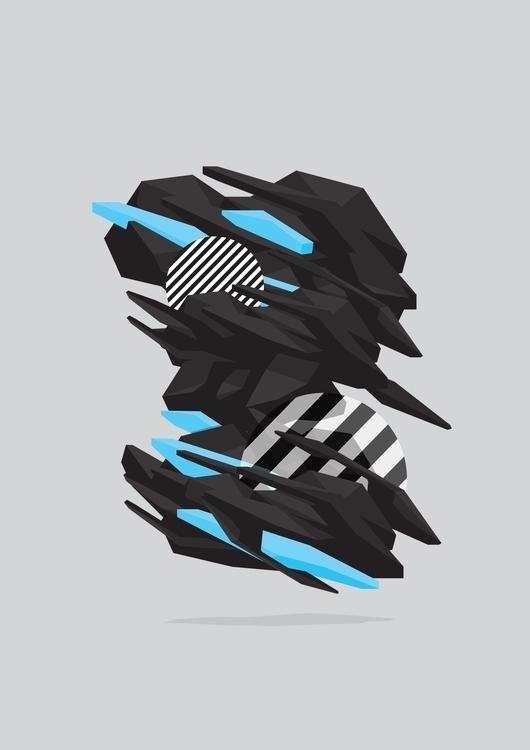 Symbiote - illustration, design - organism-4233 | ello