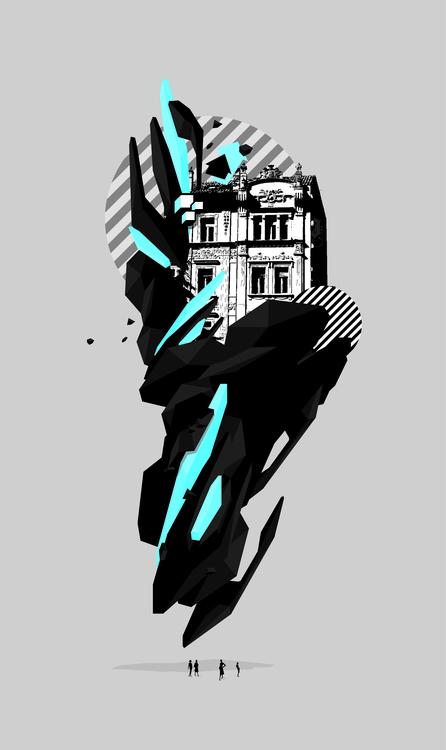 Shibenik City - illustration, design - organism-4233 | ello