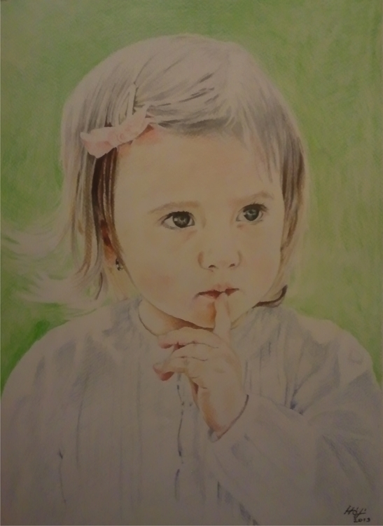 portrait, aquarelle - drawing - spiritfc | ello