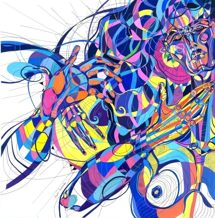 Vanilla Tapioca - illustration, painting - mariasusarenko | ello