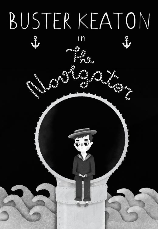 movie poster Navigator, Buster  - igorcanova | ello