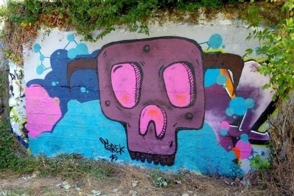 news pictures - skull, tarek, murals - tarek-8894 | ello