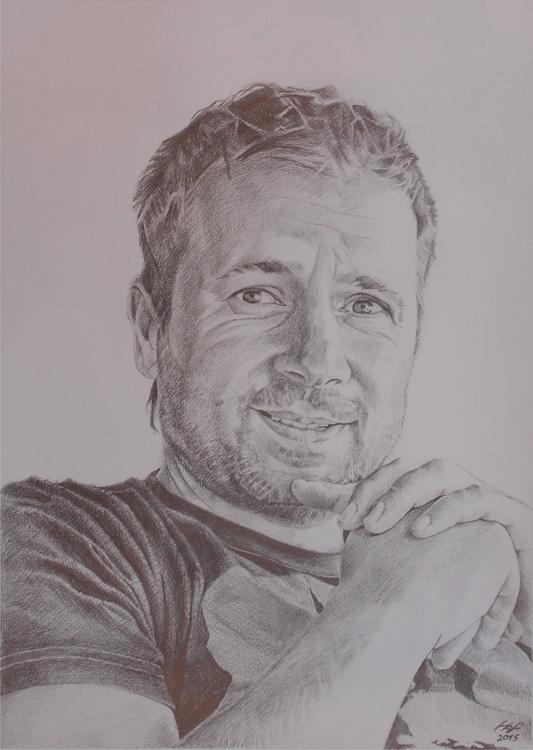 portrait, pencil - pencildrawing - spiritfc | ello